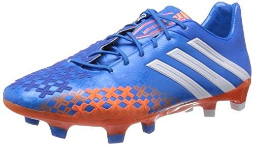 Adidas - Predator Lz Trx Fg, Scarpa Da Calcetto da uomo Azzuro-Bianco