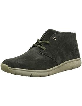 Timberland Boltero Leather WR, Botas Chukka Unisex Niños