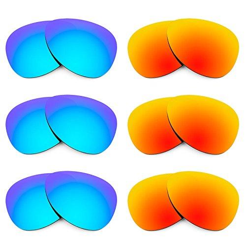 Revant Ersatzlinsen für Oakley Daisy Chain Polarisiert 6 Paar Kombipack K029