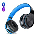 Cuffie Wireless Bluetooth con Cancellazione del Rumore e Microfono Incorporato, Meihua Tu Auricolare Bluetooth con Stereo Hi-Fi Ricaricabile per iPad,Samsung s8,PC e Computer
