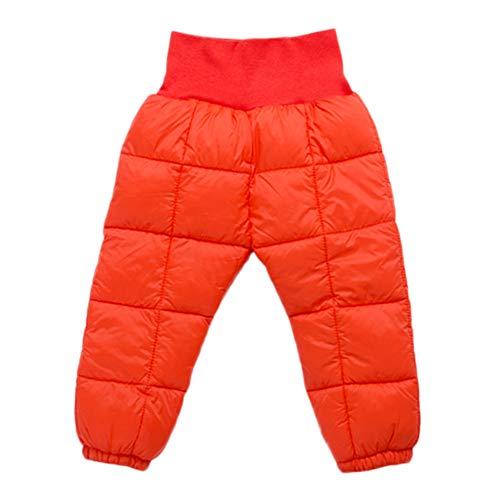 cinnamou Baby Mädchen Jungen Kind warme Hosen elastische hohe Taille Lange Hosen