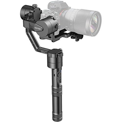 Zhiyun Crane V2 3 Axis Brushless Handheld Gimbal Stabilisator für DSLR Sony A7 Serie/Panasonic Lumix Serie/Nikon J Series/Canon M Serie (Control Remote Crane)