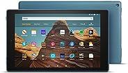 FireHD10-Tablet, Zertifiziert und generalüberholt, 64 GB, Dunkelblau – 10,1Zoll großes FullHD-Display (108