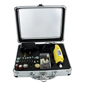41BxZiRDHWL. SS300  - Rotacraft Mini Rotary Toolkit, Yellow