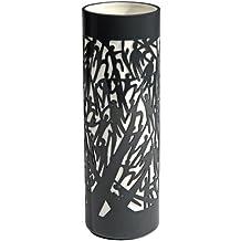 Industreal FLYING vaso in porcellana nera e bianca