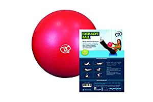 "Fitness Mad Exer-Soft Ball - 9"",Red"