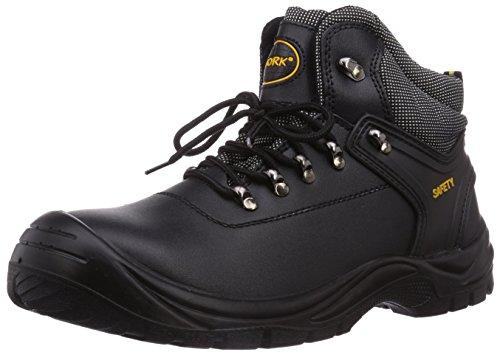 Gevavi  4W-14 4-WORK S3 HOOG, Chaussures de sécurité mixte adulte Noir - Schwarz (schwarz (zwart) 00)
