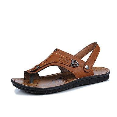 Athletic Shoes Primavera Autunno Coppia Scarpe da uomo Tulle casuale Tallone piano Nero / Blu Nero / Bianco R sandali US8 / EU40 / UK7 / CN41