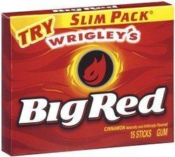 Big Red Gum Slim Pk 15 Pc - Case Pack 10 SKU-PAS1123151 by Wrigley's