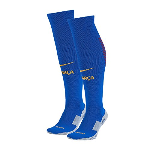 Nike FCB H/A/G - Socken Linie F.C. Barcelona Herren, Farbe Blau, Größe M