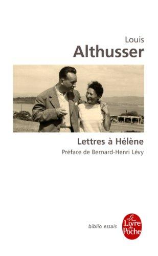 Lettres à Hélène par Louis Althusser
