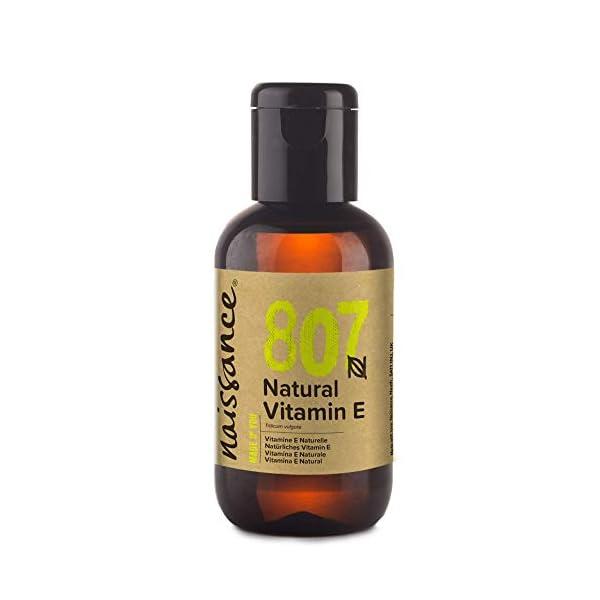 Naissance Vitamina E n. º 807 (Aceite) – 60ml – Natural, vegana, libre de hexano y no OGM.