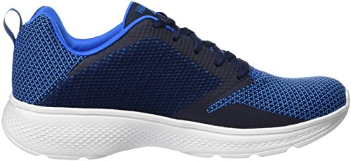 Skechers Go Walk 4-Solar, Baskets Homme Bleu (Blue)