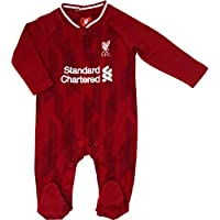 Liverpool F.C. Baby Boys Football Club Sleepsuit Red Age 3 to 6 Months
