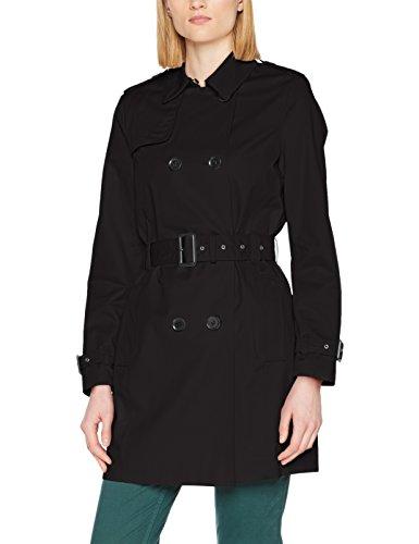 ESPRIT Damen Mantel 127EE1G009, Schwarz (Black 001), X-Small