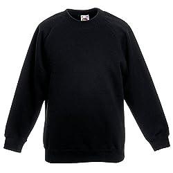Boys Girls Unisex Jumper Sweatshirt Crew Neck Round Neck School Uniform Ages 1-15