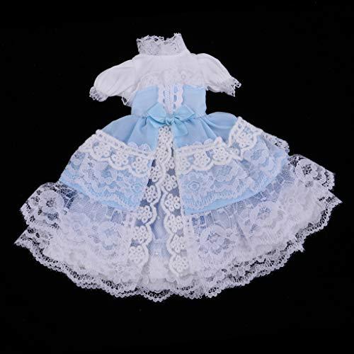 D DOLITY Niedliche Puppe Kleid / Kimono / Halloween Kleidung mit andere Zubehör für 1/6 BJD BB Puppen Dress Up - # 2