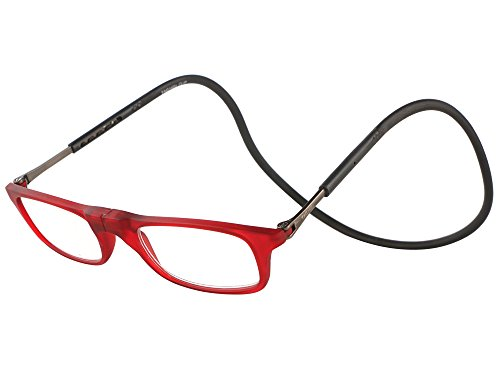 ID Magnetic Neoflex Reading Eyeglasses Suitable For Near Vision (+2.50, Red)