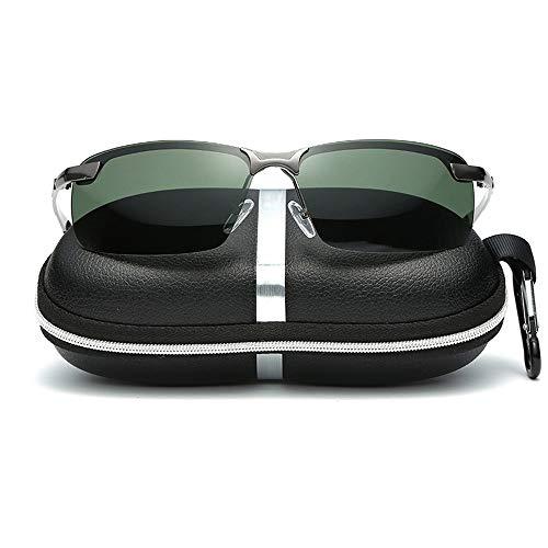 Easy Go Shopping Pouch & Cross Set Unisex-Sonnenbrille mit polarisierten Gläsern von Wellington Sonnenbrillen und Flacher Spiegel (Color : Grau, Size : Kostenlos)