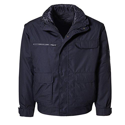 XXL Pionier Workwear beschichteter 3in1-Blouson marine, deutsche Größe:56/58