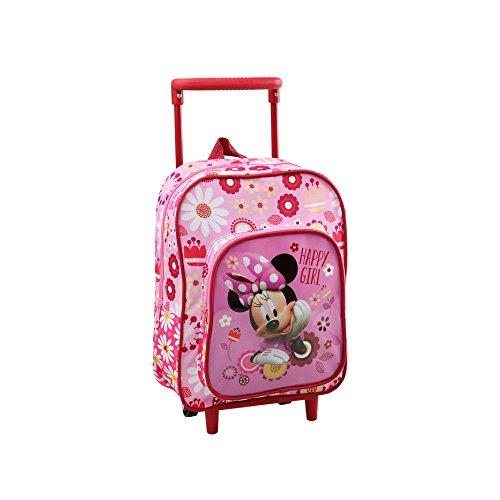 Disney minnie mouse bambini trolley zaino - 30 x 25 cm - scuola e asilo