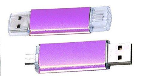 USB-STICK 2 TB Speicher groß bondisk U Disk OTG Dual Micro-USB Flash Pen Stick Stick für Handy PC violett (2tb Usb-speicher)