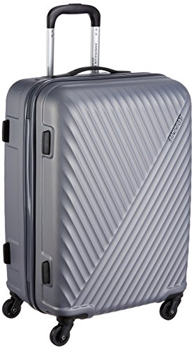 American Tourister Skyrock ABS 65 cms Dark Grey Hardsided Check-in Luggage (AMT SKYROCK SP 65 cm Dark Grey)
