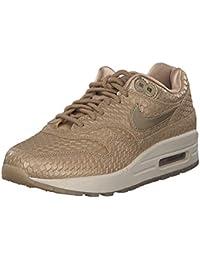 hot sale online 7b9de 23b97 Nike Air Max 1 PRM, Chaussures de Gymnastique Femme