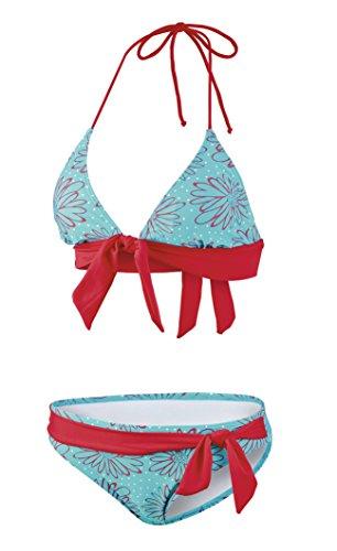 Beco Damen Bikini, B-Cup Rock-a-Bella Schwimmkleidung, Oliv Od. Hellgrün, 36 Preisvergleich