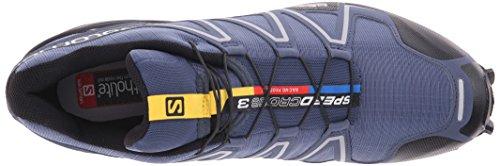 Speedcross Concorrenza Uomo Corsa Multicolore Scuro Scarpe Da Solomon 3 Blu slateblue Nero SqdwT77