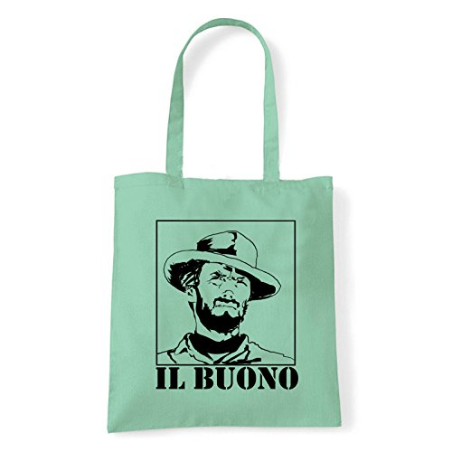 Art T-shirt, Borsa Shoulder eastwood-il-buono Menta