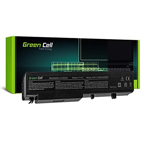 Green Cell® Standard Serie Y026C Laptop Akku für Dell Vostro 1710 1710n 1720 1720n PP36X V1710 (4 Zellen 4400mAh 14.8V Schwarz)
