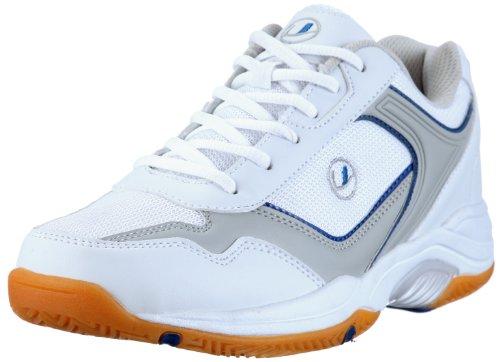 Ultrasport Sport Indoor Schuh,10069, Herren Sportschuhe - Indoor, Weiss (White/blue 100), EU 43