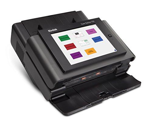Kodak Scan Station 710 - DIN A4 Netzwerk-Dokumentenscanner, duplex, 70 Blatt pro Minute, LCD-Touch-Display, 75 Blatt ADF, 10/100/1000-Base-T, PDF-Verschlüsselung 70 Lcd