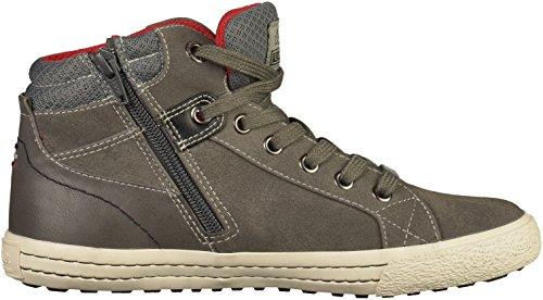 s.Oliver Jungen 45101 Hohe Sneaker Grau (Grey)