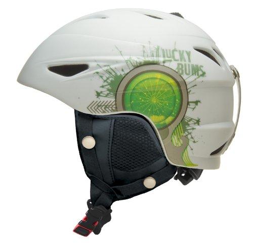 lucky-bums-alpine-series-firecracker-helmet-white-medium