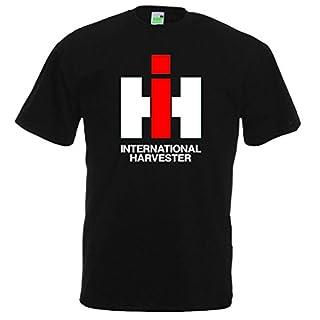 Bimaxx T-Shirt IHC Int. Harvester | Schwarz | Größe XXL