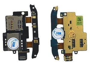 SIM Karten Leser für HTC Desire S G12 Micro SD Karten Flex Cardreader NEU