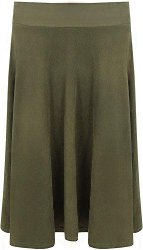 Other - Jupe - Moulante - Femme Multicolore Bigarré Taille Unique Vert