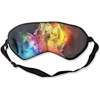 Eye Mask Eyeshade Fantasy Space Bear Sleep Mask Blindfold Eyepatch Adjustable Head Strap preisvergleich bei billige-tabletten.eu