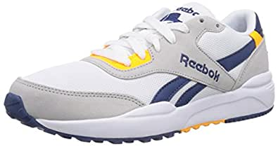 Reebok Royal Chase, Chaussons Sneaker Adulte Mixte, Multicolore (Steel/White/Batik Blue/Solar Gold/Collegiate Royal), 48.5