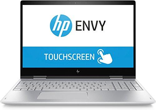 HP Envy x360 15-bp103ng 39,6 cm (15,6 Zoll Full HD IPS Touchdisplay ) Convertible Laptop (Intel Core i7-8550U, 8GB RAM, 256GB SSD, Nvidia GeForce MX150 4GB, Windows 10 Home) Silber