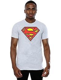 Collectors Mine - Camiseta de Superman con cuello redondo de manga corta para hombre