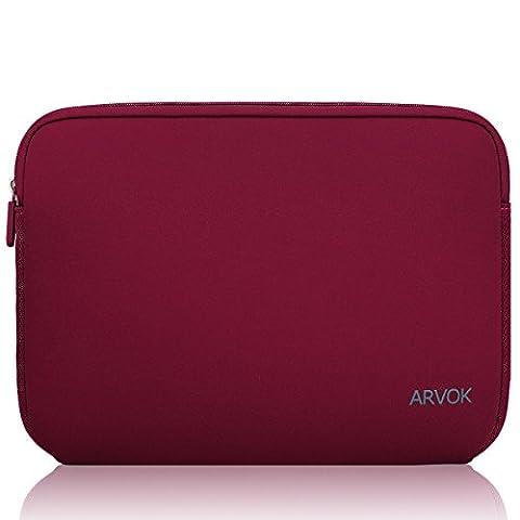 Arvok 15 15.6 16 Inch Water-resistant Neoprene Laptop Sleeve Case