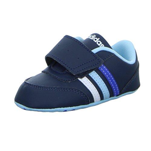 adidas Unisex Baby V Jog Crib Lauflernschuhe, Blau (Maruni/Ftwbla/Azuhie), 19 EU
