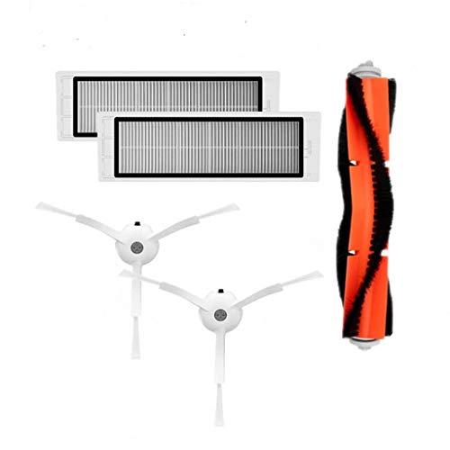 5 piezas cepillo principal cepillo lateral filtro