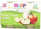 Hipp Omogeneizzato Mela e Yogurt - 24 vasetti da 125 g