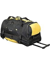 Trolleytasche Rhodosso Farbe Schwarz-gelbTrolley Case Fa. Bowatex