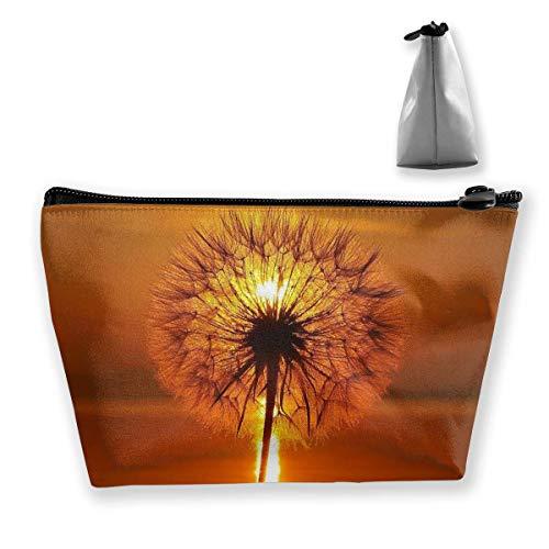 Makeup Bag Cosmetic Dandelion-thumb-1920-425301 Portable Cosmetic Bag Mobile Trapezoidal Storage Bag Travel Bags with Zipper -