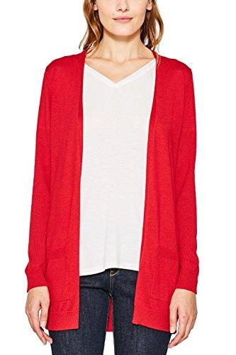 ESPRIT Damen Strickjacke 087EE1I025 Rot (Red 630), M